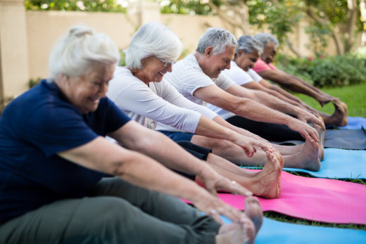 4 Reasons for Older Adults to Improve Flexibility