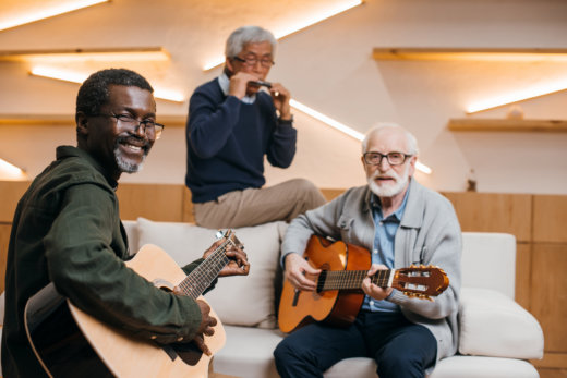 Seniors' Health: How Music Therapy Helps the Elderly